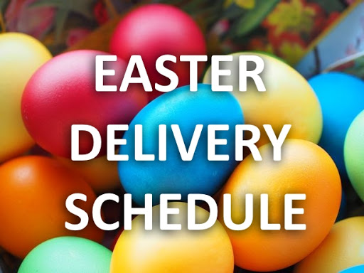 Easter Opening Hours/Deliveries